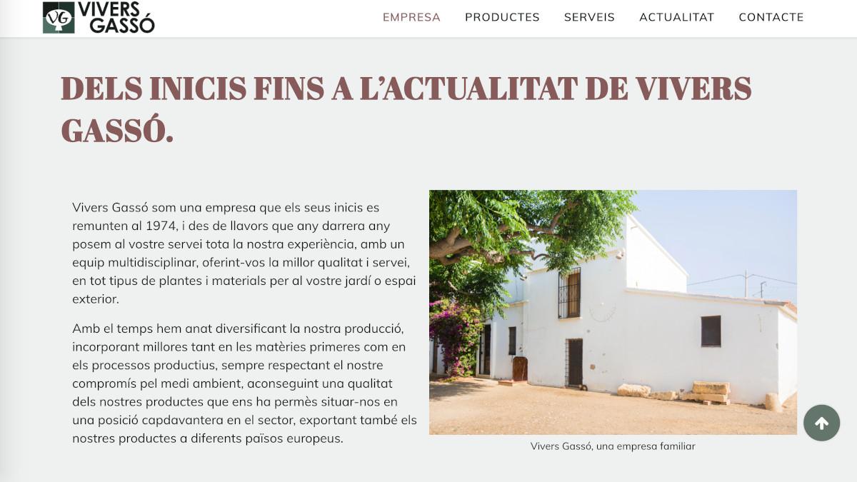 Vivers Gassó, una empresa familiar